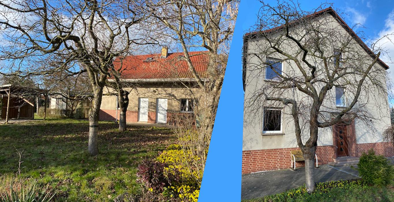 Freistehendes Haus – Wohnen in Miltitz